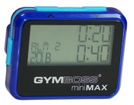 Gymboss miniMax Blue