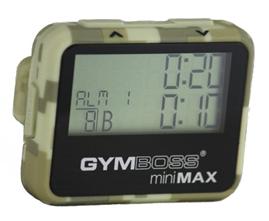 Gymboss miniMax Camo